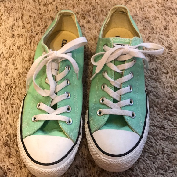 Converse Shoes - Sea foam green converse 7d9153acf